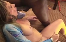 Sexy tranny loves sucking a BBC